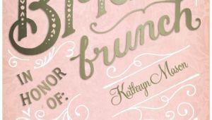 Bridal Shower Brunch Invites Bridal Brunch Signature White Bridal Shower Invitations