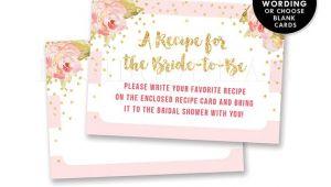 Bridal Shower Invitation Inserts Bridal Shower Insert Card Custom Invitation Enclosure