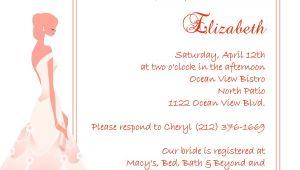 Bridal Shower Invitation Kits Elegant Frame Bridal Shower Invitation ← Wedding