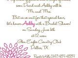 Bridal Shower Invitation Poems Bridal Shower Invite Cute Poem