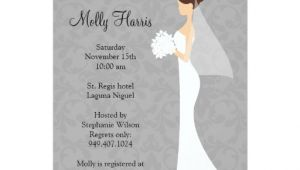 Bridal Shower Invitations with Matching Envelopes Bridal Shower Invitation with Matching Envelopes