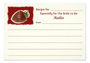 Bridal Shower Invitations with Recipe Cards Recipe Cards for Bridal Shower On Invitation Paper 3 5 Quot X