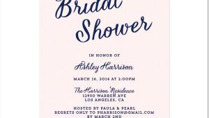 Bridal Shower Invite Examples Bridal Shower Invitation Wording