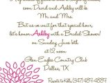 Bridal Shower Invite Poems Bridal Shower Invite Cute Poem