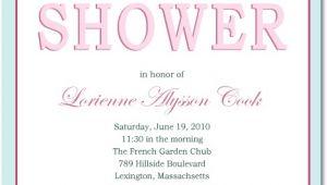 Bridal Shower Invite Text Classic but Fashion Text Bridal Shower Invitations Hpb103