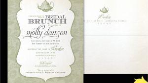 Bridal Shower Luncheon Invitation Wording Bridal Brunch Shower Invitations Bridal Shower Brunch