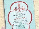 Bridal Shower Tea Party Invitation Wording Bridal Shower Invitations Tea Party Bridal Shower