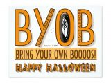 Bring A Bottle Party Invitation 96 Best Halloween Chic Invitations Images On Pinterest