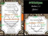 Browning Wedding Invitations 50 Camo Mossy Oak Hunt Deer Browning Hunting Custom Wedding Invitations Set 115 Ebay