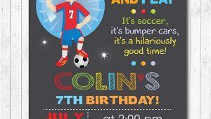 Bubble soccer Party Invitations Bubble soccer Birthday Invitation Bubble soccer Invite