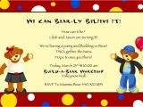 Build A Bear Party Invitations Printable 17 Best Images About Build A Bear Party Ideas On Pinterest