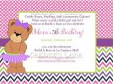 Build A Bear Party Invitations Printable Free Printable Build A Bear Birthday Invitations Free