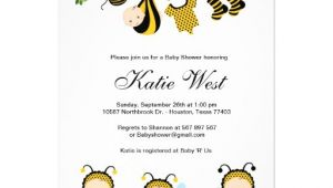 Bumble Bee Baby Shower Invites Personalized Bumble Bee Baby Invitations