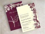 Burgundy and Ivory Wedding Invitations Best 25 Ivory Wedding Invitations Ideas On Pinterest