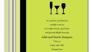 Business Cocktail Party Invitations Volunteer Customer Appreciation Invitation Consultants