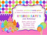 Candy themed Party Invitations Printable Birthday Party Invitations Sweet Shoppe Candy