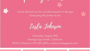 Canva Bridal Shower Invitations Bridal Shower Invitation Templates Canva