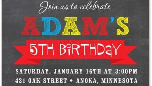 Car themed Birthday Invitation Templates Boy Birthday Invitations Red Race Car Chalkboard Birthday
