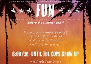 Caribbean Party Invitations themed Party Invitations Oxsvitation Com