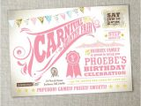 Carnival First Birthday Invitations Items Similar to Kids Birthday Party