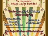 Carnival Party Invitation Wording Circus Party Invitation Wordings