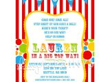 Carnival Party Invitation Wording Circus Party Invitations Party Invitations Templates