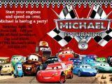 Cars Birthday Invitation Template Free Disney Cars Birthday Invitations Ideas Bagvania Free