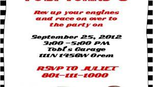 Cars Birthday Party Invitation Templates Free Disney Cars Birthday Invitation Free Template Time to