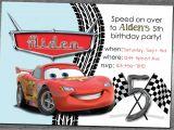 Cars Birthday Party Invitations Templates Cars Birthday Invitation