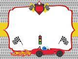 Cars Birthday Party Invitations Templates Free Printable Race Car Birthday Party Invitations
