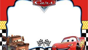 Cars themed Birthday Invitation Template Cars Invitation Templates Free and Printable