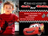Cars themed Birthday Invitation Template Disney Cars Birthday Invitation Templates
