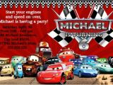 Cars themed Birthday Invitation Template Disney Cars Birthday Invitations Ideas – Bagvania Free