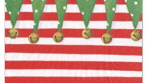 Caspari Christmas Party Invitations Caspari Stocking Stripe Place Cards Paperstyle