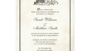 Castle Wedding Invitations Design Fairytale Castle Wedding Invitations Zazzle Com
