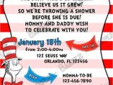 Cat In the Hat Baby Shower Invites Novel Concept Designs Boy Oh Boy the Cat In the Hat