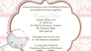 Catholic Baptism Invitations In Spanish Baptism Invitations In Spanish Wording for Baptism