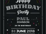 Chalkboard Birthday Invitation Template Free 14 Creative Chalkboard Birthday Invitation Templates
