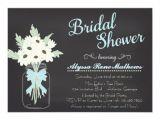 Chalkboard Mason Jar Bridal Shower Invitations Bridal Shower Invitations Bridal Shower Invitations