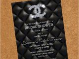 Chanel themed Bridal Shower Invitations Chanel Bridal Shower Invites