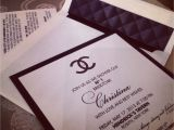 Chanel themed Bridal Shower Invitations Chanel Inspired Bridal Shower Invites Designed at the