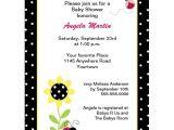 Cheap Ladybug Baby Shower Invitations 12 top Ladybug Baby Shower Invitations