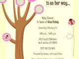Cheap Ladybug Baby Shower Invitations butterfly Ladybug Baby Shower Invitations Image
