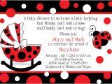 Cheap Ladybug Baby Shower Invitations Ladybug Baby Shower Invitations