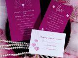 Cheap Love Bird Wedding Invitations Elegant Hot Pink Love Birds and Heart Wedding Invitations