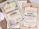 Cheap Love Bird Wedding Invitations Vintage Wedding Invitations Set the tone for A Timeless