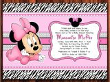 Cheap Minnie Mouse Baby Shower Invitations Free Minnie Mouse Baby Shower Invitations Baby