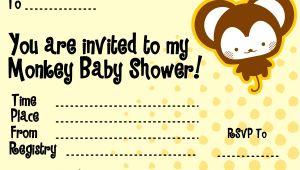 Cheap Monkey Baby Shower Invitations Cheap Monkey Baby Shower Invitations