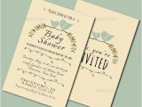 Cheap Vintage Bridal Shower Invitations 9 Vintage Baby Shower Invitations Jpg Vector Eps Ai