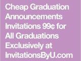Cheapest Graduation Invitations 17 Best Ideas About Cheap Graduation Announcements On